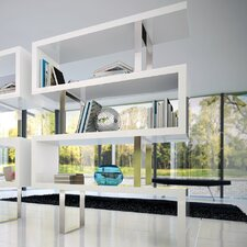 """Pearl 66"""" Cube Unit Bookcase"""