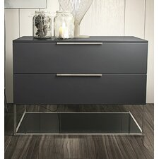 Bowery 2 Drawer Nightstand