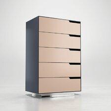 Park Tallboy 5 Drawer Dresser