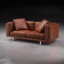 Fulton Top Grain Leather Loveseat
