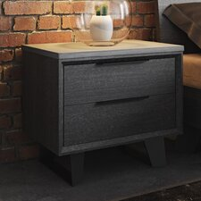 Amsterdam 2 Drawer Nightstand