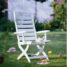 Caribic 16 Position Chair in White