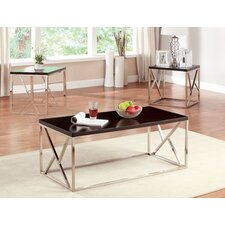 Joanie Retro 3 Piece Coffee Table Set