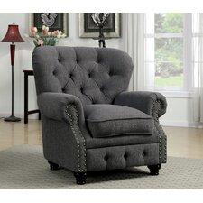 Cedric Tufted Arm Chair