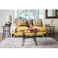 Tania 3 Piece Coffee Table Set
