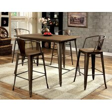 Barnes 5 Piece Counter Height Pub Set