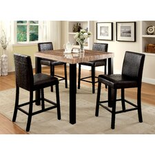 Baylor 5 Piece Counter Height Pub Set