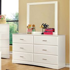 Spectrum 6 Drawer Dresser