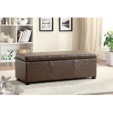 Wendell Leather Storage Entryway Bench