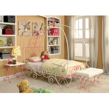 Fairy Tale Twin Canopy Customizable Bedroom Set