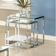 Estrava 2 Piece Nesting Tables