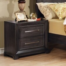 Peterson 2 Drawer Nightstand