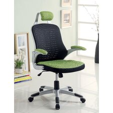 Tarbo Mesh Conference Chair with Arms