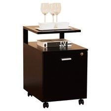 1-Drawer Modern Equipment Trolley/File Cabinet