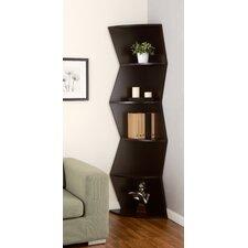 """Lavena 75.75"""" Corner Unit Bookcase"""