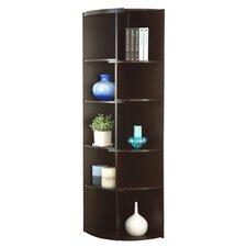 """Brendi 70.75"""" Corner Unit Bookcase"""