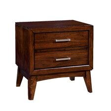 Dionn 2 Drawer Nightstand