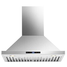 "29.5"" 860 CFM Ducted Wall Mount Range Hood"