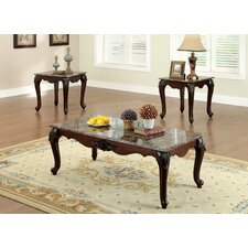 Mariann 3 Piece Coffee Table Set