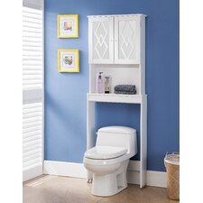 "Cora 24"" x 67"" Free Standing Over the Toliet"