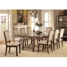 Vienzo 9 Piece Dining Set