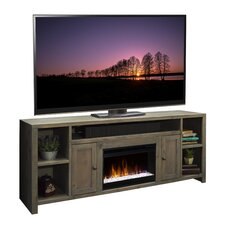 "Columbus 84"" TV Stand with Electric Fireplace"