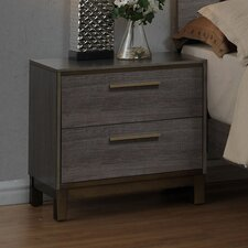 Benito 2 Drawer Nightstand
