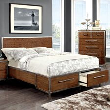 Bilsen Storage Panel Bed