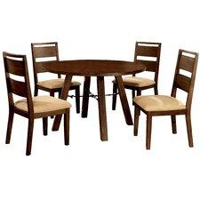 Shrader 5 Piece Dining Set