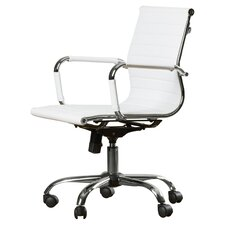 Dorynn Low-Back Office Chair with Casters