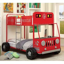 Fire Engine Twin Bunk Bed