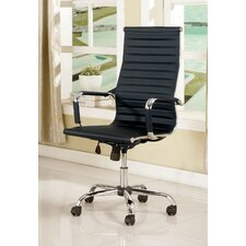 Dorynn High-Back Office Chair with Casters