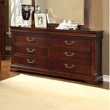 Cherisse 6 Drawer Dresser