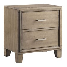 Nina 2 Drawer Nightstand