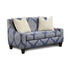 Azule Damask Chair and Half