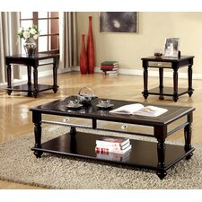 Bridgette 3 Piece Coffee Table Set