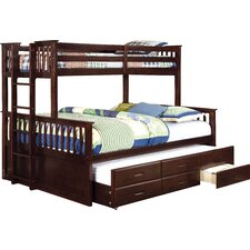 Emmerson Twin over Queen Bunk Bed