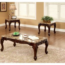 Kalline 3 Piece Coffee Table Set