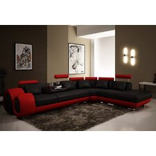 Melrose 3 Piece Leather Sectional