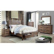 Crusoe Platform 5 Piece Bedroom Set