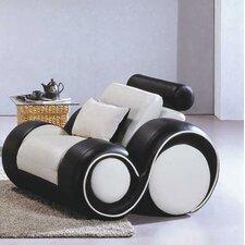 Hematite Leather Chair