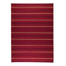 Savannah Striped Purple Area Rug