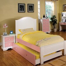 Aila Twin Panel Customizable Bedroom Set
