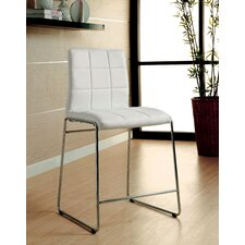 "Narbo 24.5"" Bar Stool with Cushion (Set of 2)"