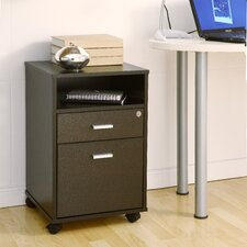2-Drawer Classic Rolling Mobile  File