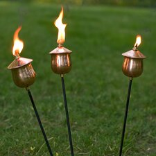 Copper Mini Torches (Set of 3)
