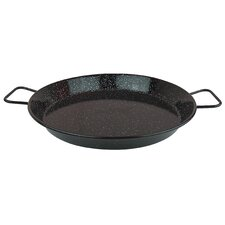 Enameled Paella Pan