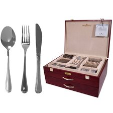 Cordoba 114 Piece Stainless Steel Flatware Set