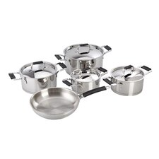 Premier Stainless Steel 9 Piece Cookware Set