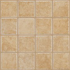 """Colonnade 3"""" x 3"""" Ceramic Mosaic Tile in Gold"""